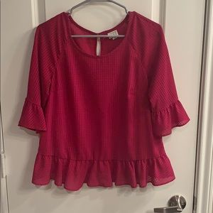 A New Day pink blouse size Medium